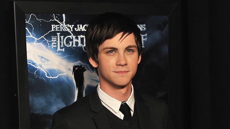 Percy Jackson and the Olympians NY premiere 2010 Logan Lerman