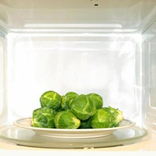 Is it really safe to put veggies in the microwave?