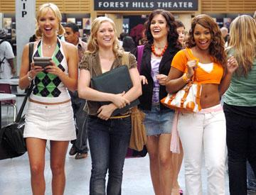 Arielle Kebbel , Brittany Snow , Sophia Bush and Ashanti in 20th Century Fox's John Tucker Must Die