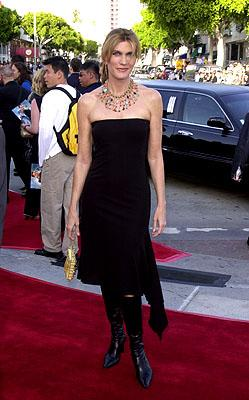 Julie Moran at the Westwood premiere of Paramount's Lara Croft: Tomb Raider