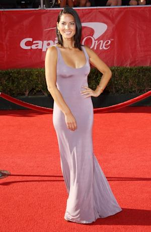 Olivia Munn arrives at the 2012 ESPY Awards -- Getty Premium
