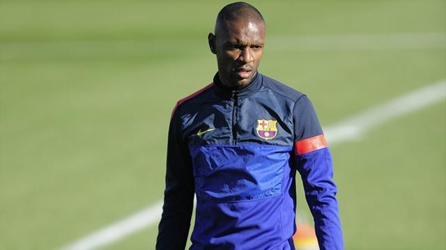 Ligue 1 - Abidal: Barca didn't want the risk
