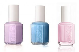 Three new polishes from Essie's upcoming spring collection, available in February.