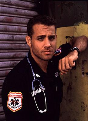 Bobby Cannavale as paramedic Bobby Caffey on NBC's Third Watch Third Watch