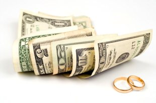 How does money affect marriage?