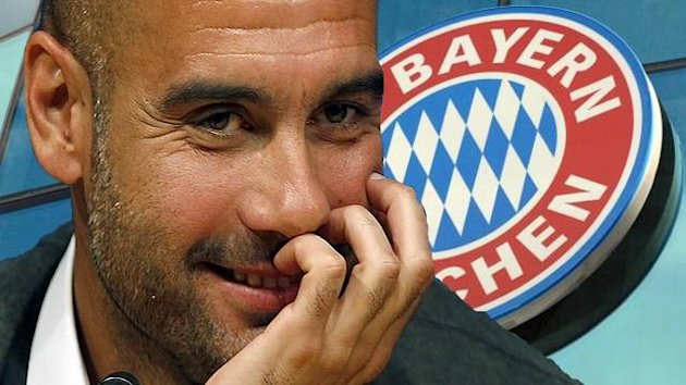 guardiola bayern munich 2012