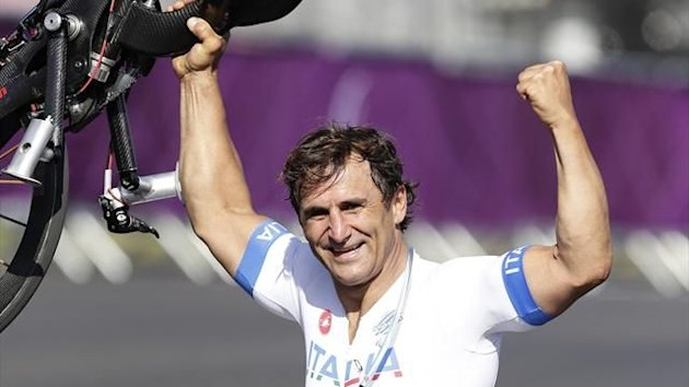London 2012, Italy, Alex Zanardi (AP/LaPresse)