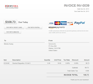 Using Online Payment Forms to Shorten Your Receivables Collection Days image Online Payment Form Servora