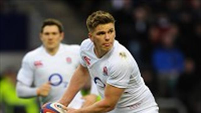 Six Nations - Catt backs Farrell for Lions spot