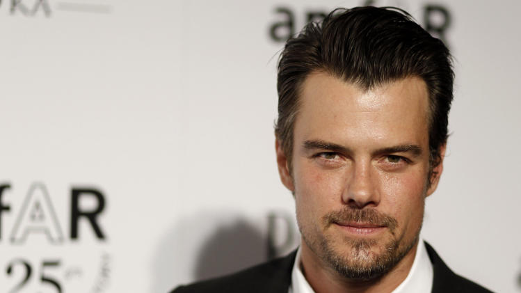"FILE - In this Oct. 27, 2011 file photo, Actor Josh Duhamel arrives at amfAR's Inspiration Gala in Los Angeles. The Gala benefits AIDs research worldwide. Duhamel, the star of ""Transformers: Dark of the Moon"" was named on Tuesday, Jan. 22, 2013, as host of Nickelodeon's 26th Annual Kids' Choice Awards, which will be broadcast from the Galen Center in Los Angeles on March 23, 2013. (AP Photo/Matt Sayles, File)"