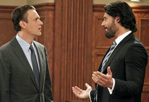 Jason Segel and Joe Manganiello | Photo Credits: Richard Cartwright/CBS