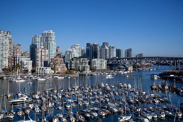 The skyline of Vancouver, British Columbia (Getty Images)