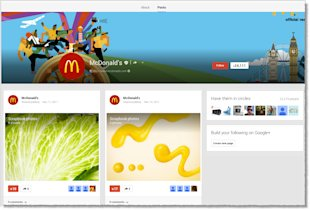10 Top Brands with the Worst Google Plus Pages image Top Brands with the Worst Google Pages 2