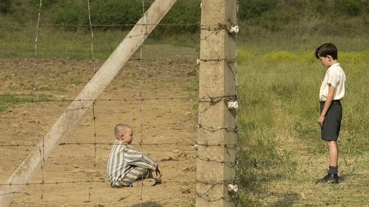 Jack Scanlon Asa Butterfield The Boy in the Striped Pajamas Production Stills Miramax 2008