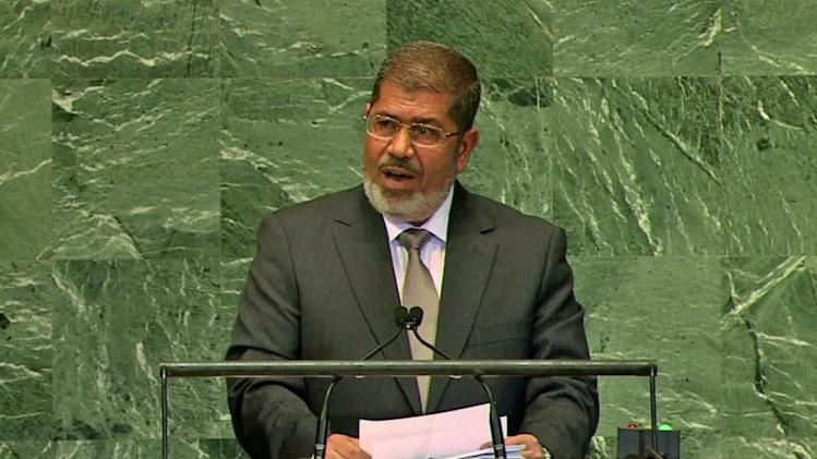 Egyptian military ousts President Mohammed Morsi