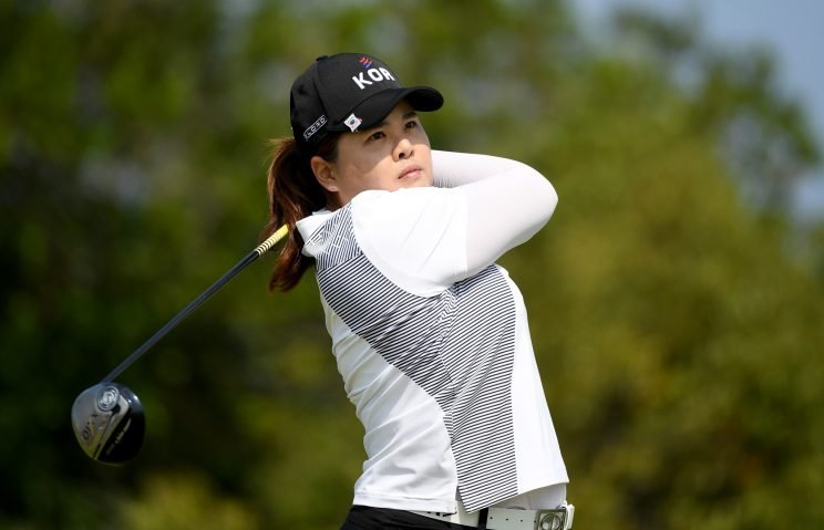 Inbee Park has a two-shot lead through three rounds in Rio. (Getty Images)