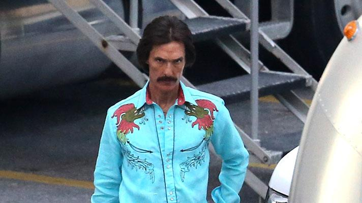 Spotted on Set, Matthew McConaughey