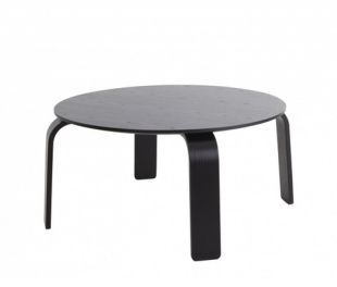 This black table would provide a clean accent to your living room.