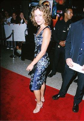 Jennifer Grey gives a pouty look at the Loews Cineplex Century Plaza premiere of New Line's The Cell