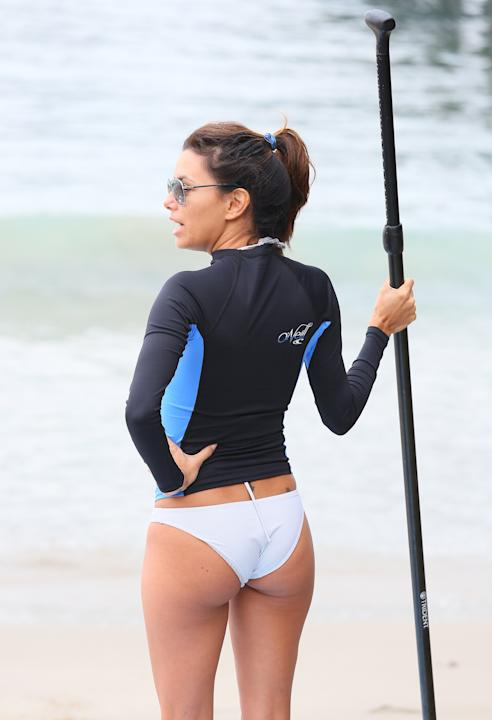 "Eva Longoria: ""I learned a new sport"""