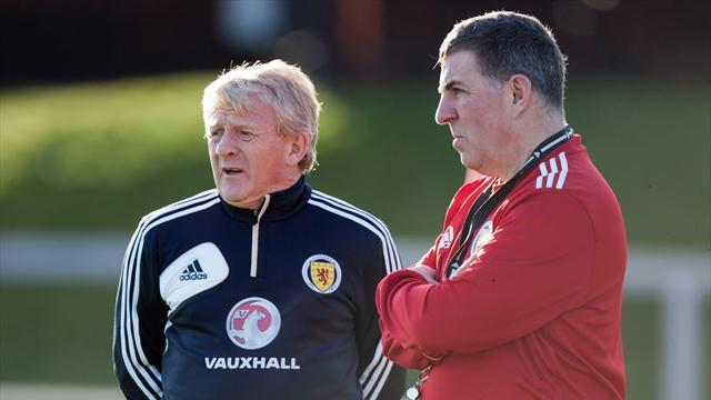 World Football - Scotland v Estonia: LIVE