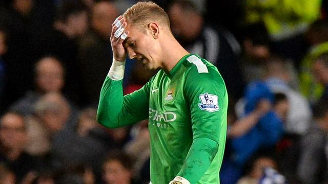 Premier League - Pellegrini coy on Hart's return to City lineup