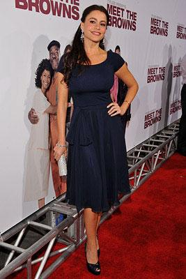 Sofia Vergara at the Los Angeles premiere of Lionsgate Films' Tyler Perry's Meet the Browns