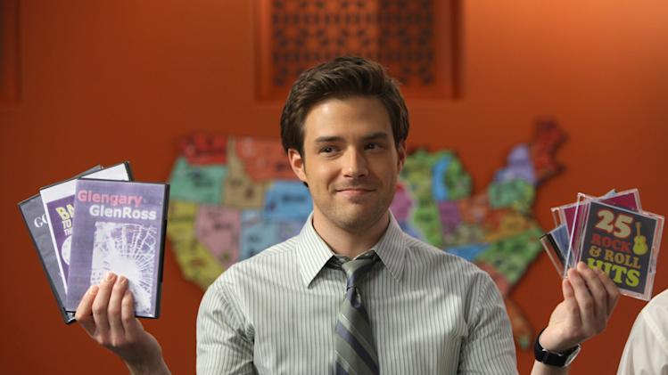 "Ben Rappaport as Todd in  ""Outsourced."""