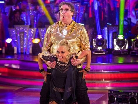 Mark Benton does MC Hammer. Fab-u-lous.