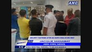 To give us an update on the ongoing investigation on SM North EDSA's robbery last night we now have on the line ABS-CBN reporter Jacque Manabat.