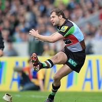 Nick Evans was behind a stunning comeback by Harlequins against Wasps last weekend