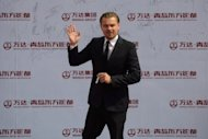 Actor Leonardo DiCaprio of the US in the Eastern port city of Qingdao on September 22, 2013. Kidman, Leonardo DiCaprio and John Travolta on Sunday added their star power to the glitzy inauguration of the Qingdao Oriental Movie Metropolis, billed as China's answer to Hollywood