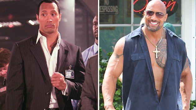 The Rock Before And After for Pinterest