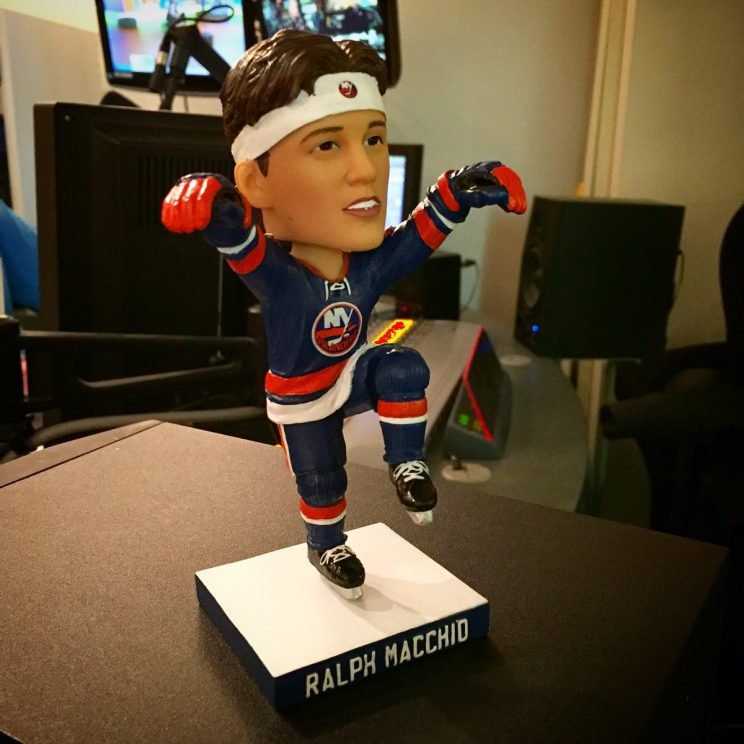Ralph Macchio bobblehead from Boomer and Carton Twitter account.