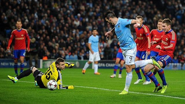 Champions League - Bayern Munich and Manchester City through to last 16