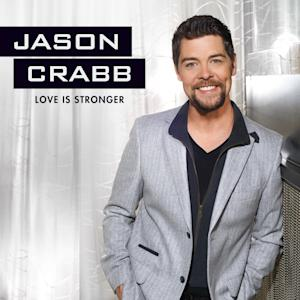 "This CD cover image released by Gaither Music Group shows ""Love is Stronger,"" by Jason Crabb. (AP Photo/Gaither Music Group)"