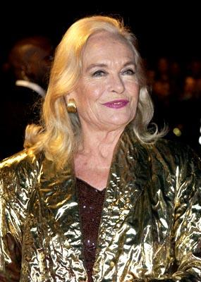 Shirley Eaton at the London gala premiere of MGM's Die Another Day