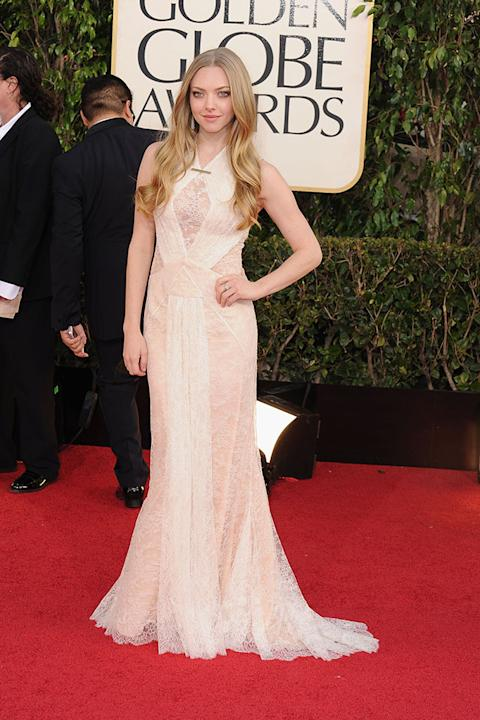 70th Annual Golden Globe Awards - Arrivals: Amanda Seyfried