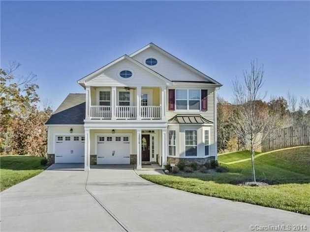 private back deck, this newly built 4-bedroom, 3-bathroom home ...
