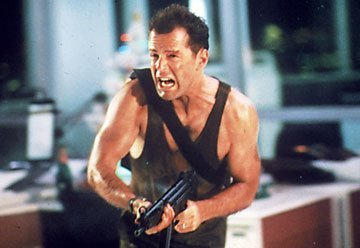Bruce Willis as John McClane in 1988's 'Die Hard'
