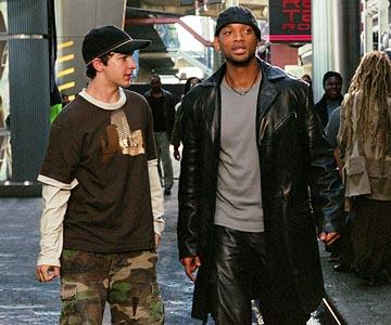 Shia LaBeouf and Will Smith in 20th Century Fox's I, Robot