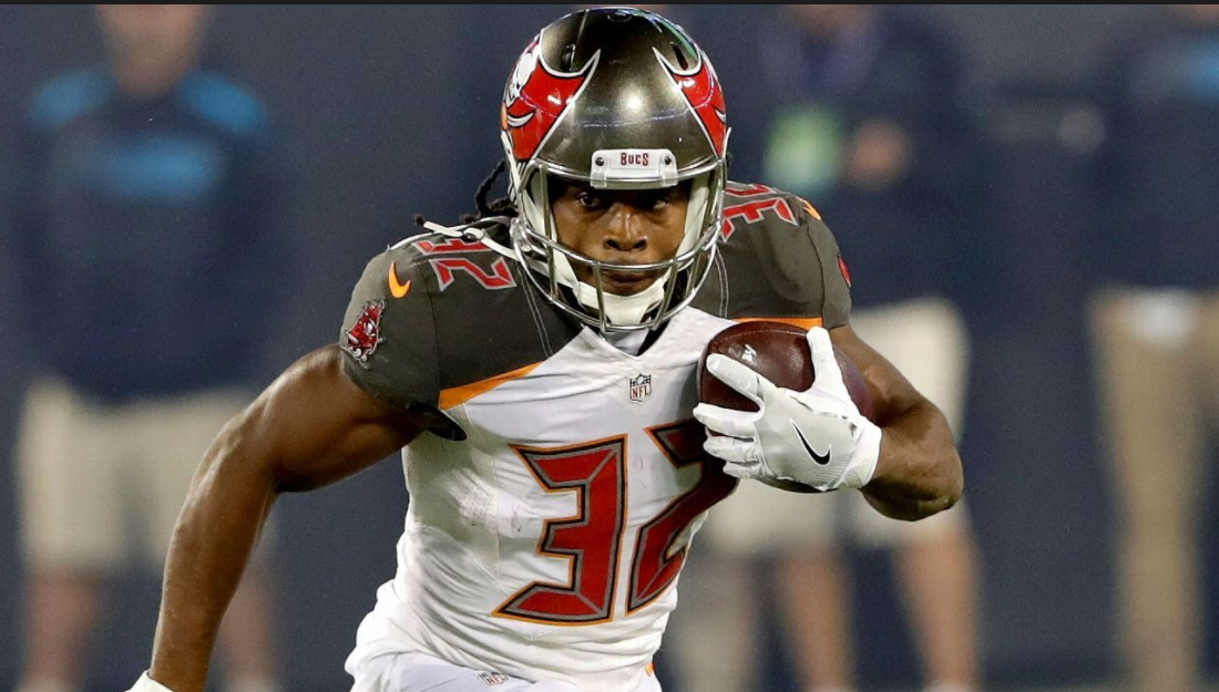 Jacquizz Rodgers is the last man in Tampa's backfield