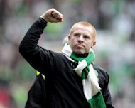 "Neil Lennon, manager of Celtic, at a Scottish Premier League football match in 2010. ""Having watched Helsinki last week I know it's going to be a really hard game,"" he told Scottish media after watching his side draw 1-1 in a friendly with Inter Milan on Saturday"