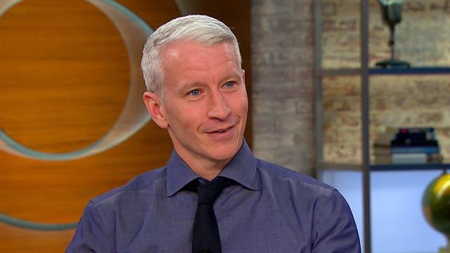 Anderson Cooper on going temporarily blind