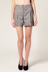ASOS bound-seam shorts