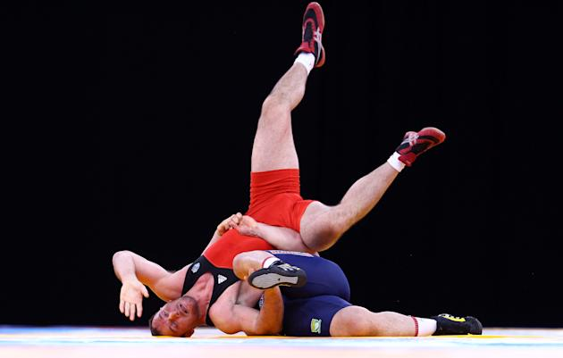 Wrestling - LOCOG Test Event for London 2012