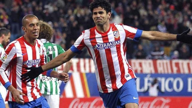 Spanish Liga - Atletico Madrid too strong for Real Betis