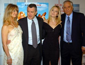 Goldie Hawn, Robert De Niro, Kate Hudson and Garry Marshall Tribeca Film Festival, May 1, 2004