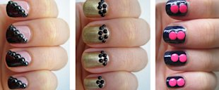 Make your manicures 3-D with studs!