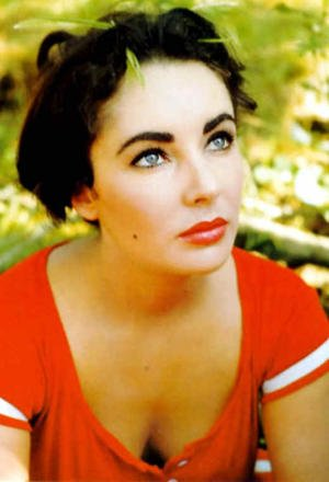 Elizabeth Taylor, one of my eyebrow icons